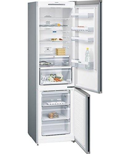 Siemens KG39NVL35 frigorifero con congelatore Libera installazione Acciaio inossidabile 366 L A++