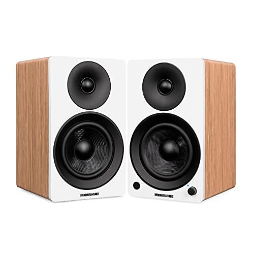 Fluance Ai41 Powered 2-Way 2.0 Stereo Bookshelf Speakers with 5
