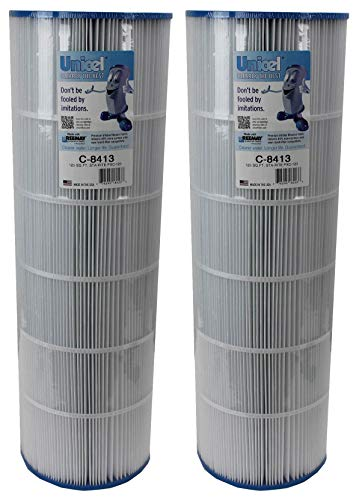 Unicel 2 New C-8413 Pool Spa Replacement Cartridge Filters 125 Sq Ft Sta-Rite
