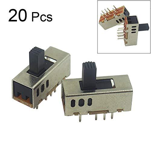 Godagoda 3 Position 4 Polig Mini Schiebeschalter Kippschalter Elektro Spielzeug Taschenlampe Schalter