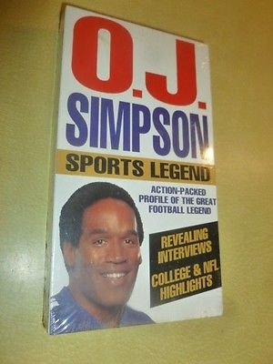 O.J. Simpson:a Sports Legend [VHS]
