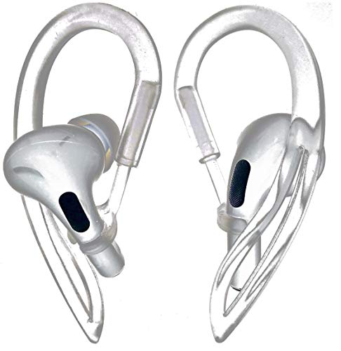 JNSA AirPods Pro Ear Hooks Anti-Slip Anti-Drop Earhooks【Not Fit in The Charging Case】 Compatible...