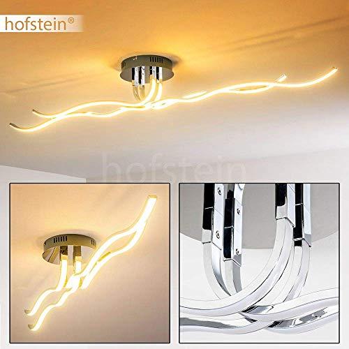 LED Plafoniera Moderna 3000 Kelvin Stile Design Onde Luminose