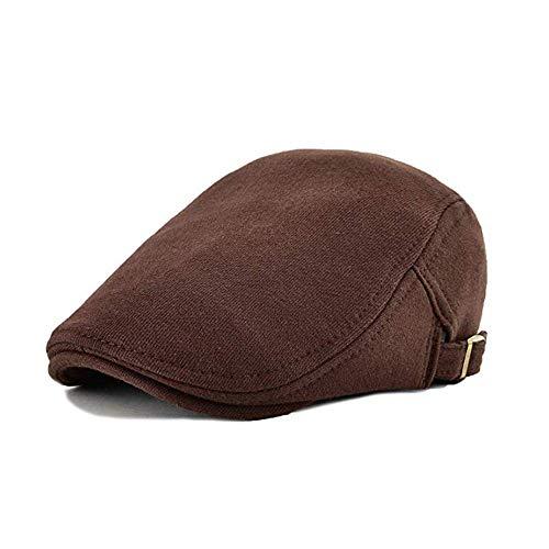 Markcur Berretto Piatto Uomo Donna Coppola Cappello Estiva Baschi Scozzesi Hat Gatsby Flat cap
