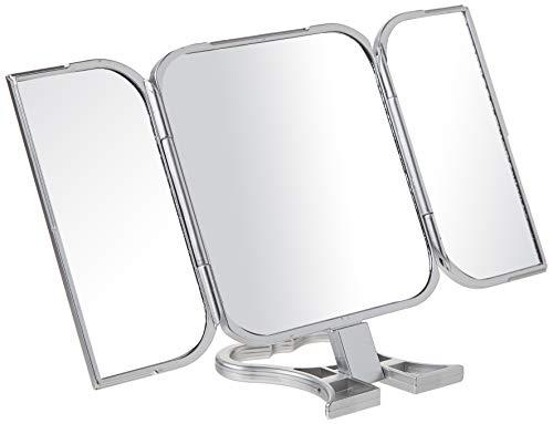 Danielle Enterprises Silver 3-Way Beauty Mirror by Danielle Enterprises