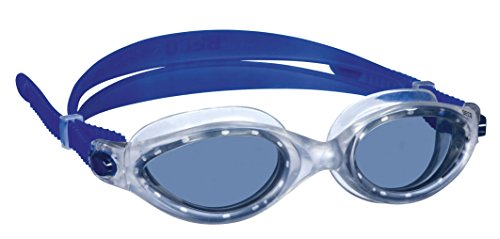 Beco Unisex– Erwachsene Cancun Schwimmbrille, grau od. Silber, One Size