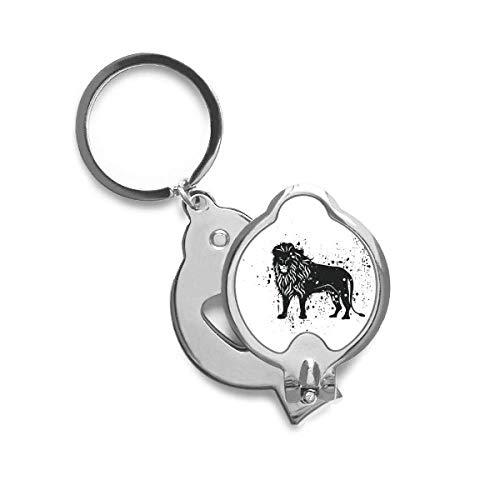 DIYthinker Mexique Lion Simple noir et blanc Ongle Cutter Trimmer