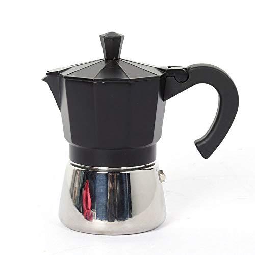 MYYINGELE Edelstahl Espressokocher, Kaffeekocher, Achtseitig Espresso Maker, Coffee Maker, Tropffilter Kochen Home Office Kaffeekanne, Handstanzkaffeemaschine