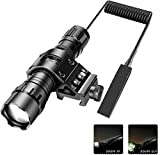 Best Ar15 Lights - Tactical Flashlight 1200Lumens Zoomable Super Bright LED Weapon Review
