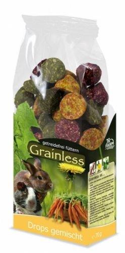 JR Grainless Drops gemischt Größe 4 x 140g