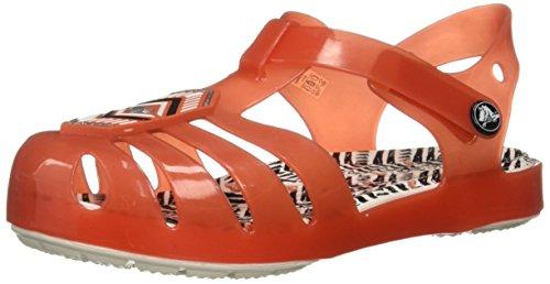 crocs Filles Drew X Isabella Sandal K Rot Pantoletten/Clogs 29/30