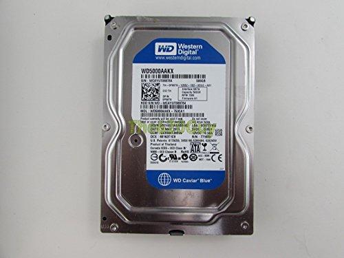Western Digital WD5000AAKX SATA-Festplatte (500 GB, 7.200 U/min, 16 MB, Dell P86T9) Blau