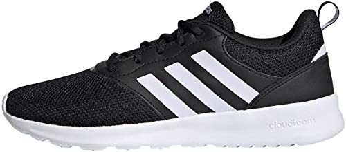 adidas Women's QT Racer 2.0 Running Shoe, Core Black FTWR White Grey Five, 5 UK