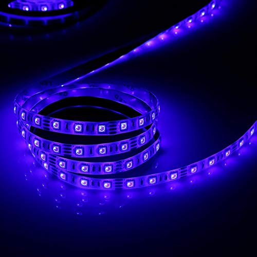 Santing Tira de luz de TV, luz LED RGB, Tira de LED, retroiluminación LED de TV, Tiras de luz de 5M 5V para iluminación de Fondo de TV(Waterproof)