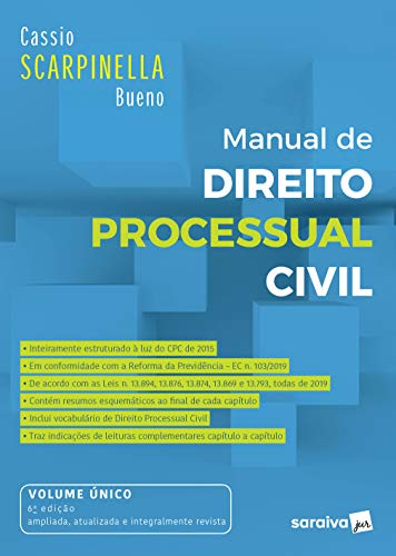 Manual de Direito Processual Civil - 6ª Ed. 2020