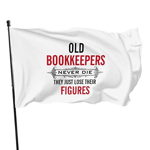 Generic Brands Bannière de drapeau anciens livres Never Die They Just Disappeared