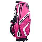LiChaoWen Bolsas de Palos de Golf Rosa Soporte del Golf Bolsa De 11 Vías Top Case Organizador del Recorrido De Golf Accesorios Deportes Soporte Bolsa For...