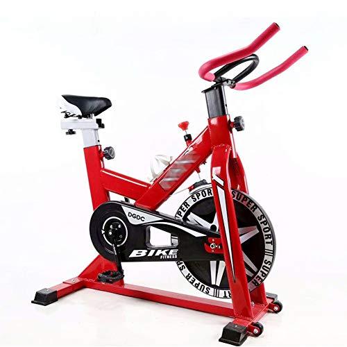 GKJ Professional Bicicleta Estática,Fitness con consolaideal para Quemar Grasa y Mejorar la Forma física