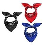 Rosennie Multifunktionstuch Face Shield Gesichts Kopftuch,Bandanas für Männer und Frauen Halstuch...