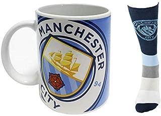 Manchester City - Mug & Socks Combo Pack (2-Piece)
