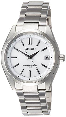 [セイコーウォッチ] 腕時計 ブライツ ソーラー電波修正 サファイアガラス SAGZ079 メンズ シルバー