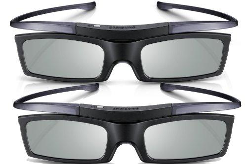 Samsung SSG-P51002 Noir 2pièce(s) Lunette 3D - Lunettes 3D (Coin, 151 x 161 x 40 mm, 24 g, 148 g, Noir, 10-40 °C)