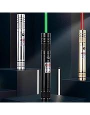 Oplaadbare LED-zaklamp, USB-oplaadlaserzaklamp, krachtige full-star laserlamp-wit, voor artikelidentificatie/kamperen/nachtvissen