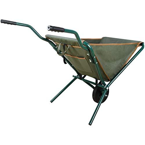 Esschert Design gt138 Faltbare Schubkarre, grün