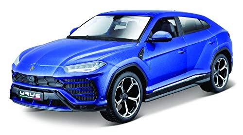 Maisto-1/24 KIT Metal- Maisto-Lamborghini Urus Auto, M39519, Blu