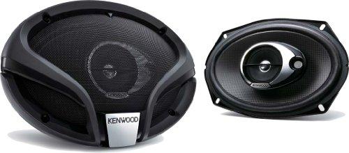 Kenwood KFC-M6934A Ovaler 3.0 Lautsprecher (153x229mm, 360 Watt) schwarz