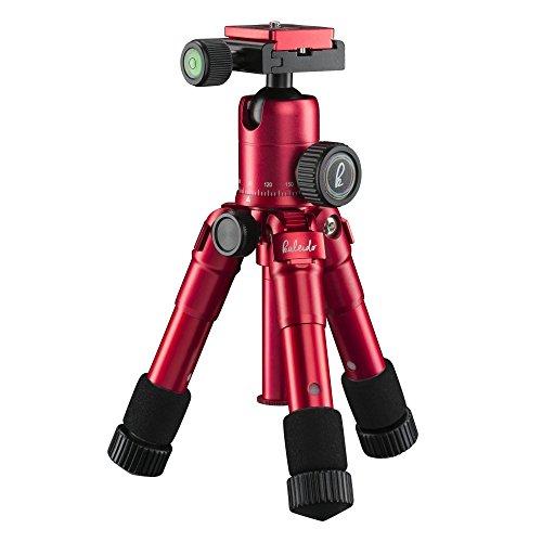 Mantona 21183 tripode Digitales / cámaras de película 3 pata(s) Rojo - Trípode (Digitales / cámaras de película, 5 kg, 3 pata(s), 49,5 cm, Rojo, Sistema de bloqueo por giro Twist Lock o Sistema de cierre tipo rosca Twist Lock)