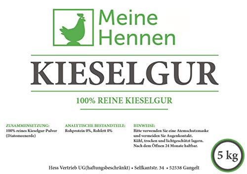Meine Hennen (EUR 4,00/ kg) Kieselgur 5 kg/ca. 12 Liter - Natürliche Diatomeenerde