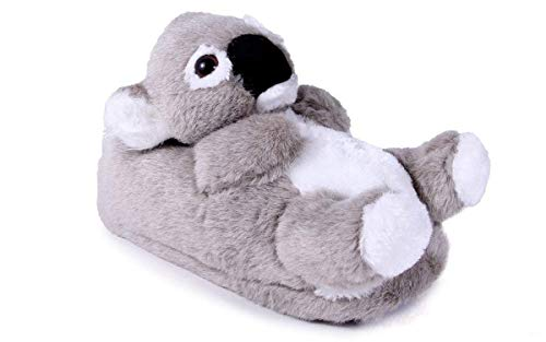 9033-1 - Koala - Small - Happy Feet Kids and Adult Animal Slippers