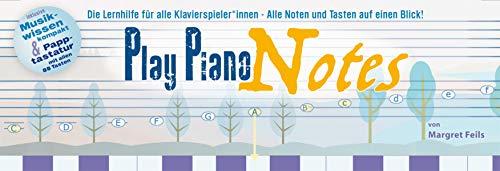 Play Piano Notes: Die Lernhilfe für alle Klavierspieler*innen - Alle Noten und Tasten auf einen Blick