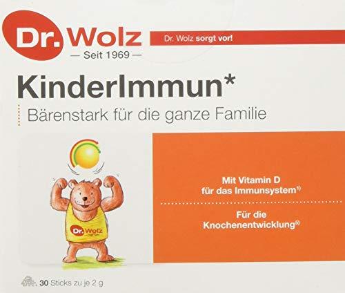 Kinderimmun Dr. Wolz |ausgewählter Wirkkomplex| ohne Zusatzstoffe|für Kinder ab 2 Jahren | 30 Sticks a 2 g