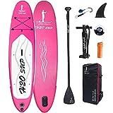 H2OSUP Tabla Paddle Surf Hinchable, 320 X 76 X 15 Cm Tabla Stand...