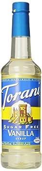 Torani Sugar Free Syrup Vanilla 25.4 Oz