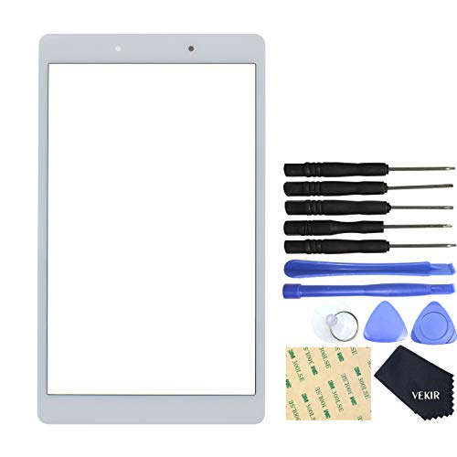 SM-T290 Glass Screen Replacement for Samsung Galaxy Tab A 8.0 2019(Wi-Fi) White