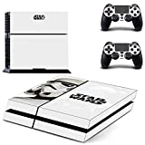 Star War Decal PS4 Skin Sticker for Playstation 4 Console Protection Film +2Pcs Controllers Cover-DPTM1526