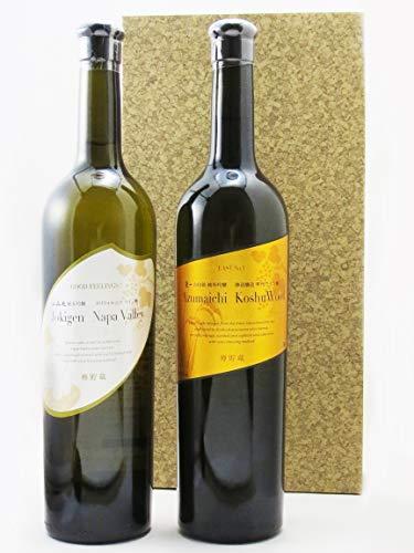 〔セット商品〕上喜元 (じょうきげん) ナパバレー 純米吟醸 カリフォルニアワイン樽貯蔵 + 東一 純米吟醸 甲州ワイン樽貯蔵 750ml×2本セット