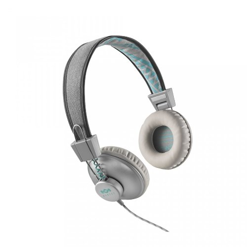 House of Marley Positive Vibration EM-JH013-SM Cuffie On-Ear, Mist/Multicolore