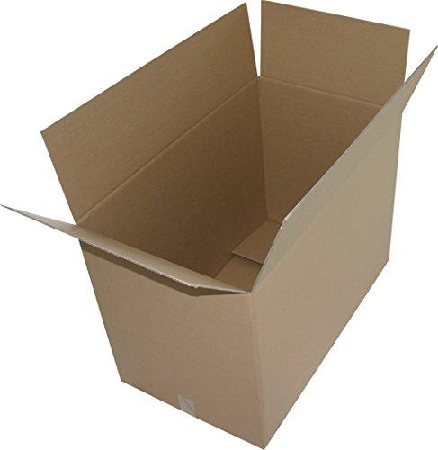 10 St. Faltkartons 1000x600x600 mm Umzugskartons 2.40 BC 2 wellig stabil Versandschachtel 100x60x60 cm Kiste Post Versandbox