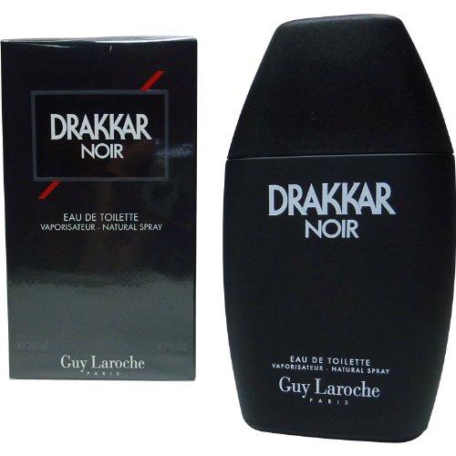 Eau de toilette Drakkar Noir para hombres, spray, 200 ml