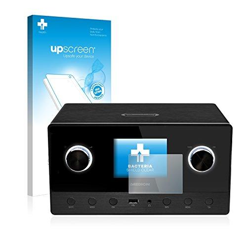 upscreen Antibakterielle Schutzfolie kompatibel mit Medion Life P85111 (MD 87295) klare Displayschutz-Folie