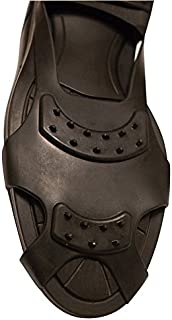 Slip-On Anti-Skid Shoe Traction Grabbers for Ice and Snow Shoe Studs - Fits US 5-8 EUR 36-41 Shoes