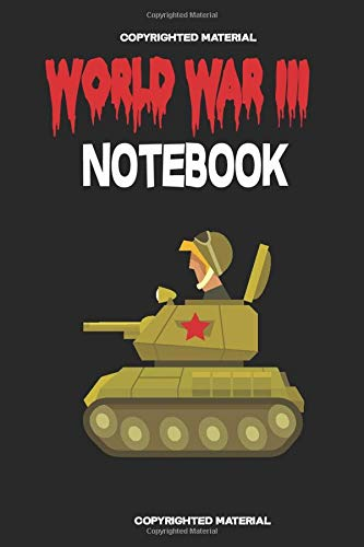 world war 3 notebook: world war 3 Notebook / Notepad / Journal / Novels /Diary, Funny Gag Gift for Men and Women,Youths and Kids, Donald Trump,world ... Pages  ( 6 x 9 inches ) soft and matte cover