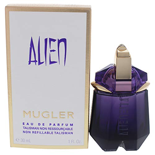 Alien By Thierry Mugler For Women. Eau De Parfum Non Refillable Spray 1 Ounces