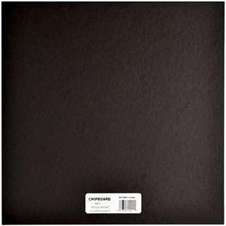 black chipboard