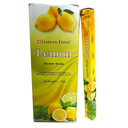120 varillas de incienso Lemon limón aroma fragancia ambientador