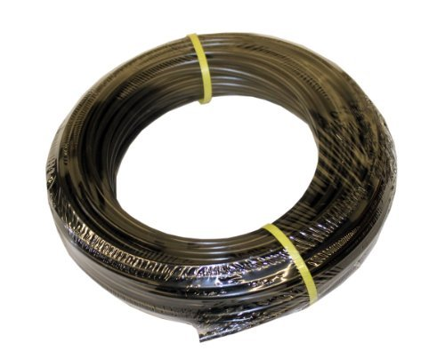 ATP Value-Tube LDPE Plastic Tubing, Black, 1/4 ID x 3/8 OD, 100 feet Length by ATP